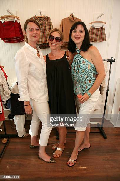 Christina Peffer Lisa Peretz and Allison Parlante attend HATCHLINGS Spring 2008 HATCH Boys Collection hosted by ANNETTE LAUER CRISTINA CUOMO and ANA...