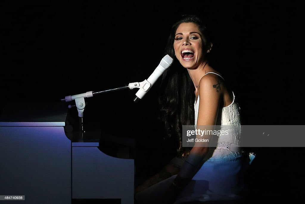Christina Perri And Colbie Caillat In Concert - Los Angeles, CA