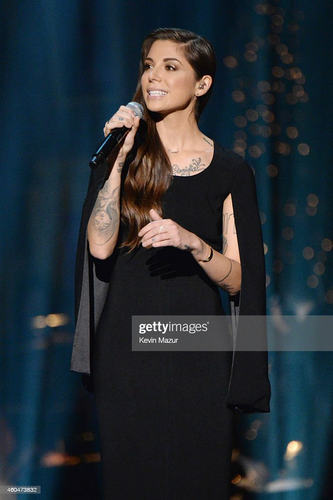 Christina Perri performs onstage at TNT Christmas in Washington 2014 at the National Building Museum on December 14, 2014 in Washington, DC. 25248_002_1514.JPG