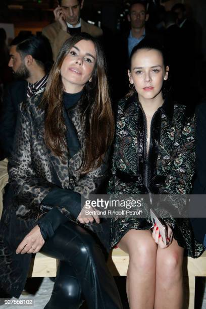 Christina Pitanguy and Pauline Ducruet attend the Giambattista Valli show as part of the Paris Fashion Week Womenswear Fall/Winter 2018/2019 on March...
