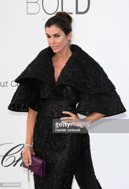 Christina Pitanguy arrives at the amfAR Gala Cannes 2018 at Hotel du CapEdenRoc on May 17 2018 in Cap d'Antibes France