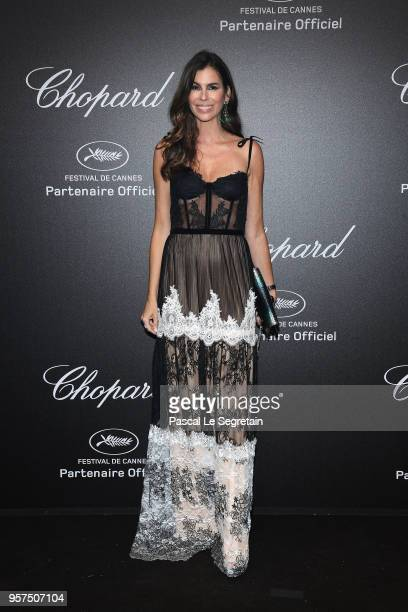Christina Pitanguy attends Chopard Secret Night during the 71st annual Cannes Film Festival at Chateau de la Croix des Gardes on May 11 2018 in...