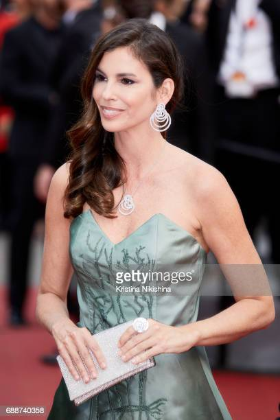 Christina Pitanguy attends the 'Amant Double ' screening during the 70th annual Cannes Film Festival at Palais des Festivals on May 26 2017 in Cannes...