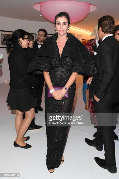 Christina Pitanguy attends the amfAR Gala Cannes 2018 after party at Hotel du CapEdenRoc on May 17 2018 in Cap d'Antibes France