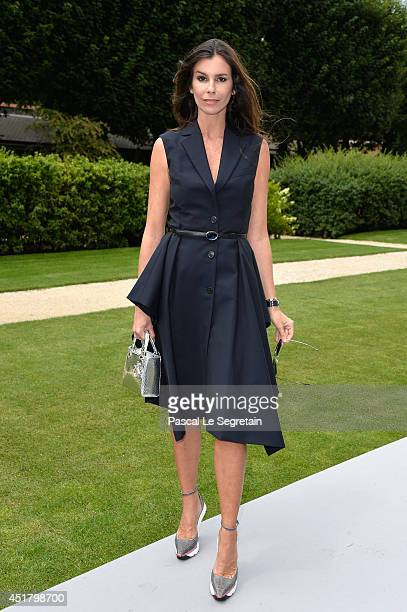 Christina Pitanguy attends the Christian Dior show as part of Paris Fashion Week Haute Couture Fall/Winter 20142015 on July 7 2014 in Paris France