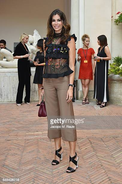 Christina Pitanguy attends the Fendi Roma 90 Years Anniversary Welcome Cocktail at Palazzo Carpegna on July 7 2016 in Rome Italy