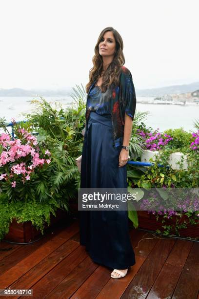 Christina Pitanguy attends the ladies luncheon announcing the new partnership between Chopard and the Naked Heart Foundation at Hotel Martinez on May...