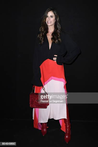 Christina Pitanguy attends the Lanvin show as part of the Paris Fashion Week Womenswear Spring/Summer 2018 on September 27 2017 in Paris France