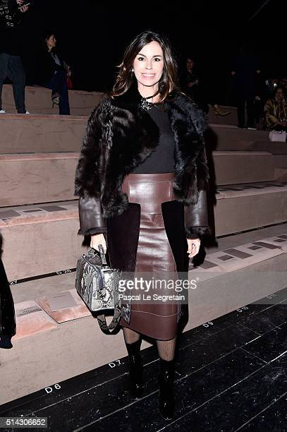 Christina Pitanguy attends the Valentino show as part of the Paris Fashion Week Womenswear Fall/Winter 2016/2017 on March 8, 2016 in Paris, France.