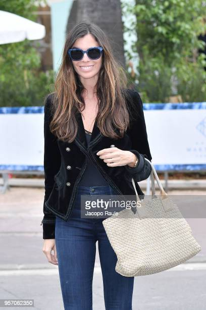 Christina Pitanguy is seen during the 71st annual Cannes Film Festival at on May 10 2018 in Cannes France