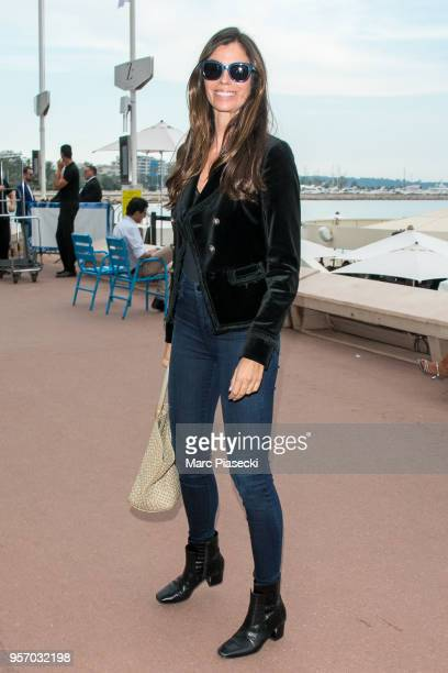 Christina Pitanguy is seen strolling on the Croisette during the 71st annual Cannes Film Festival at on May 10 2018 in Cannes France