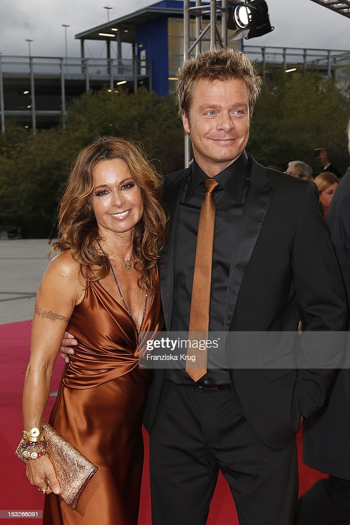 Christina Plate And Oliver Geissen Attend The German Tv Award 2012