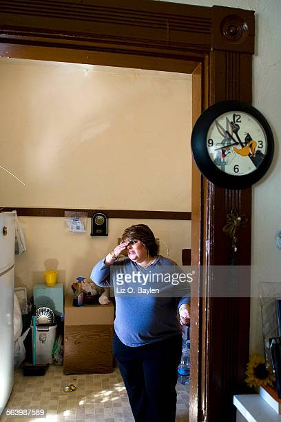 CA – Christina Ramos talks about her friend's kitchen that she stands in which was stripped at the end of January Ramos who used to have a business...