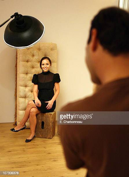 Christina Ricci and photographer Jeff Vespa during 2006 Diesel Portrait Studio Presented by Inside Entertainment and Wireimage Day 2 at Portrait...