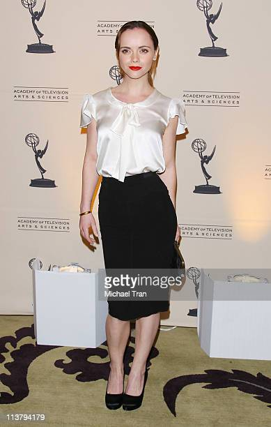 Christina Ricci arrives at the 4th Annual Television Academy Honors held at Beverly Hills Hotel on May 5 2011 in Beverly Hills California