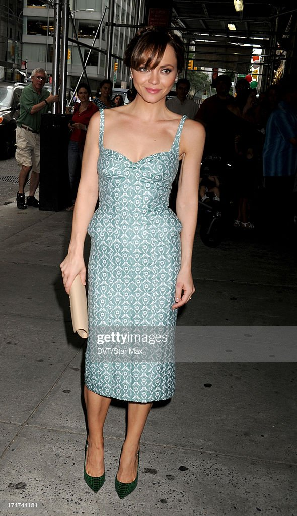 Christina Ricci as seen on July 28, 2013 in New York City.