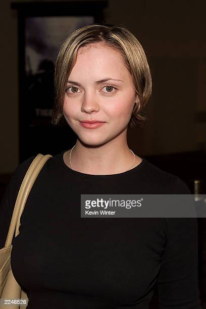 Christina Ricci at a screening of 'Tigerland' at the Zanuck Theater on the lot at Twentieth Century Fox Studios in Los Angeles Ca 10/3/00 Photo by...
