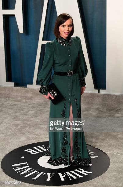 Christina Ricci attending the Vanity Fair Oscar Party held at the Wallis Annenberg Center for the Performing Arts in Beverly Hills Los Angeles...