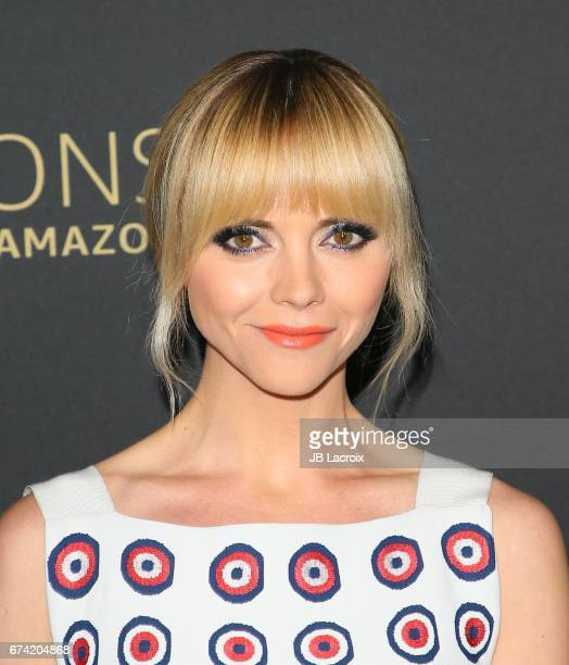 Christina Ricci attends a Emmy FYC Screening for Amazon's 'Z: The Beginning Of Everything' on April 27, 2017 in Hollywood, California.