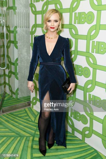 Christina Ricci attends HBO's Official Golden Globe Awards After Party at Circa 55 Restaurant on January 6, 2019 in Los Angeles, California.