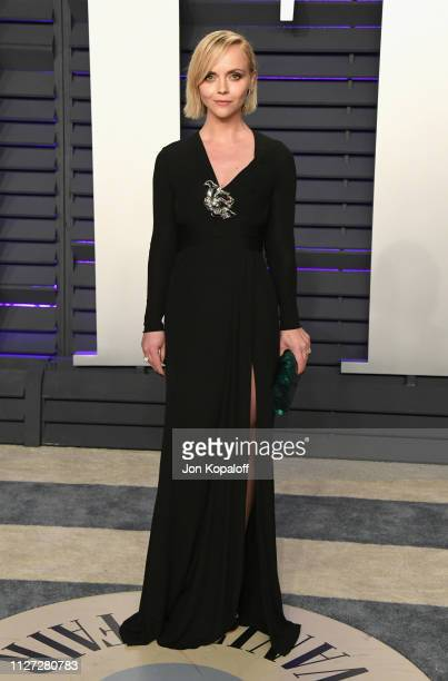 Christina Ricci attends the 2019 Vanity Fair Oscar Party hosted by Radhika Jones at Wallis Annenberg Center for the Performing Arts on February 24...