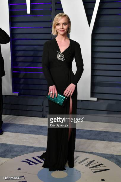Christina Ricci attends the 2019 Vanity Fair Oscar Party hosted by Radhika Jones at Wallis Annenberg Center for the Performing Arts on February 24,...
