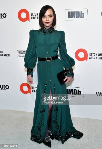 Christina Ricci attends the 28th Annual Elton John AIDS Foundation Academy Awards Viewing Party Sponsored By IMDb And Neuro Drinks on February 09,...