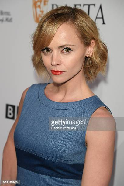 Christina Ricci attends The BAFTA Tea Party at Four Seasons Hotel Los Angeles at Beverly Hills on January 7 2017 in Los Angeles California