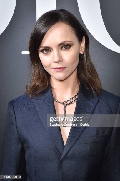 Christina Ricci attends the Dior Homme Menswear Fall/Winter 2020-2021 show as part of Paris Fashion Week on January 17, 2020 in Paris, France.