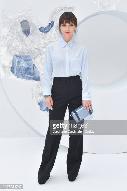 Christina Ricci attends the Dior Homme Menswear Spring Summer 2020 show as part of Paris Fashion Week on June 21, 2019 in Paris, France.