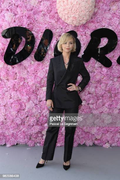 Christina Ricci attends the Dior Homme Menswear Spring/Summer 2019 show as part of Paris Fashion Week on June 23 2018 in Paris France