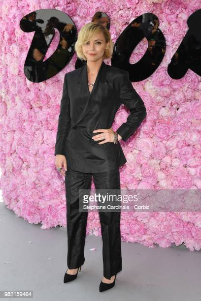 Christina Ricci attends the Dior Homme Menswear Spring/Summer 2019 show as part of Paris Fashion Week Week on June 23, 2018 in Paris, France.