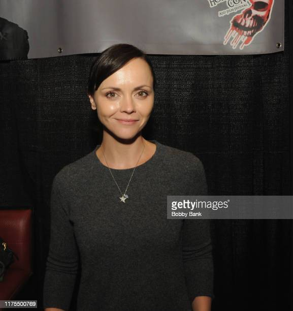 Christina Ricci attends the New Jersey Horror Con 2019 at Showboat Hotel in Atlantic City on October 12, 2019 in Atlantic City City.