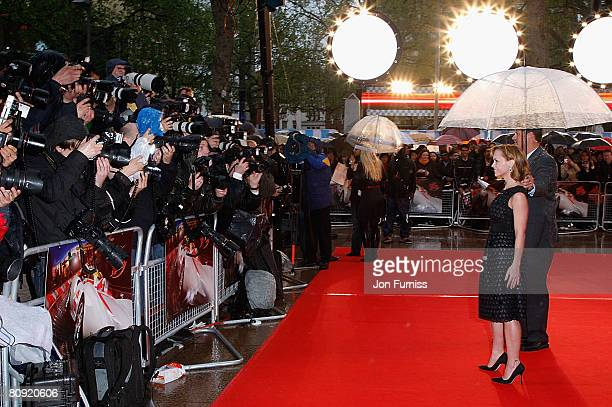 Christina Ricci attends the Speed Racer film premiere held at the Empire Leicester Square on April 29, 2008 in London, England.