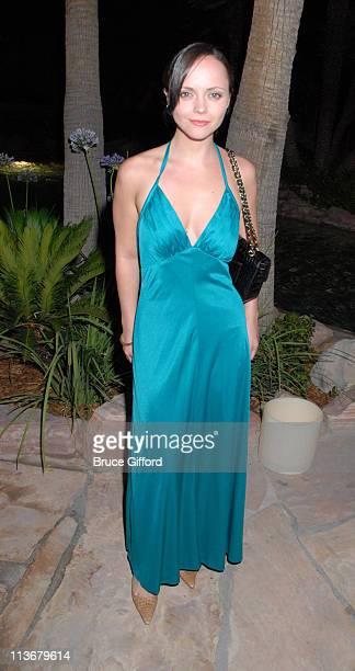Christina Ricci during 2006 CineVegas Day 8 Honoree's Reception At The Hard Rock Hotel Casino at Hard Rock Hotel Casino in Las Vegas Nevada United...