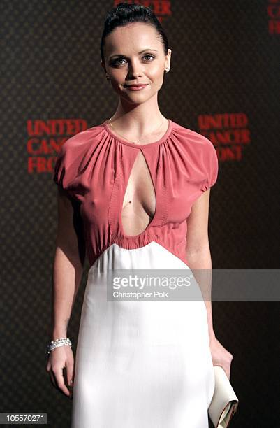 Christina Ricci during 2nd Annual Louis Vuitton United Cancer Front Gala - Arrivals at Universal Studios in Universal City, CA, United States.