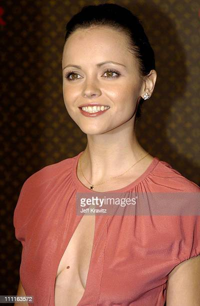 Christina Ricci during 2nd Annual Louis Vuitton United Cancer Front Gala Arrivals at Universal Studios in Universal City California United States
