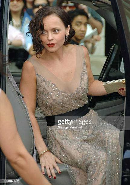 Christina Ricci during 31st Annual Toronto International Film Festival 'Penelope' Premiere Arrivals at Roy Thompson Hall in Toronto Ontario Canada