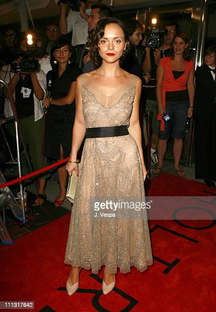 """Christina Ricci during 31st Annual Toronto International Film Festival - """"Penelope"""" Premiere - Red Carpet at Roy Thompson Hall in Toronto, Canada."""