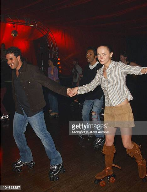 Christina Ricci during 4 Wheelers By Skechers Party at The Hollywood Palladium in Hollywood California United States