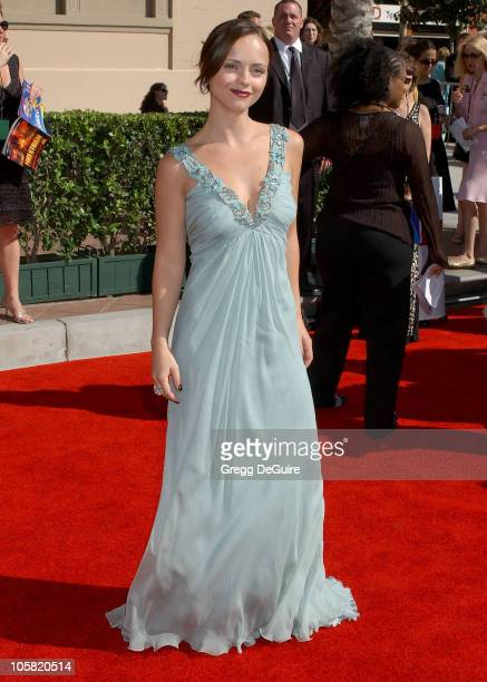 Christina Ricci during 58th Annual Creative Arts Emmy Awards - Arrivals at Shrine Auditorium in Los Angeles, California, United States.