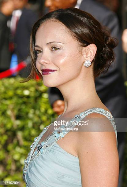 Christina Ricci during 58th Annual Creative Arts Emmy Awards - Red Carpet at The Shrine Auditorium in Los Angeles, California, United States.