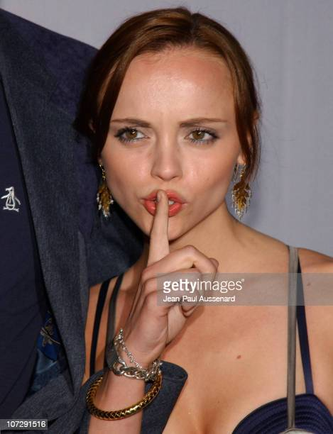 Christina Ricci during Barneys New York Hosts Proenza Schouler Fashion Show to Benefit the Rape Foundation CoSponsored by HewlettPackard Arrivals at...