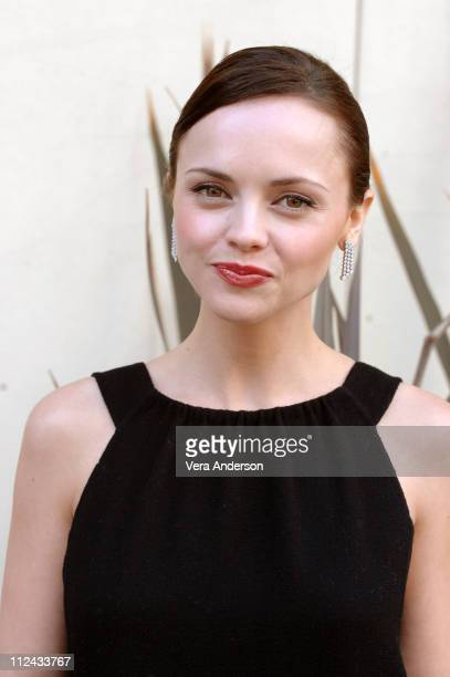 Christina Ricci during Black Snake Moan Press Conference with Samuel L Jackson Christina Ricci and Craig Brewer at Century Plaza Hotel in Century...
