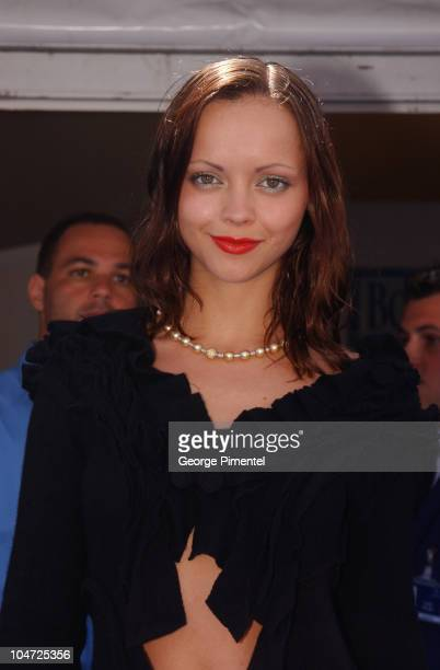 Christina Ricci during Cannes 2002 Christina Ricci Opens The American Pavilion at The American Pavilion in Cannes France