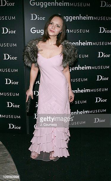 Christina Ricci during Dior Sponsors Artist's Ball Honoring Matthew Ritchie Arrivals at Guggenheim Museum in New York City New York United States