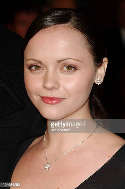 """Christina Ricci during World Premiere of """"Monster"""" At The Closing Night of AFI Fest 2003 at The ArcLight Cinerama Dome in Hollywood, California,..."""