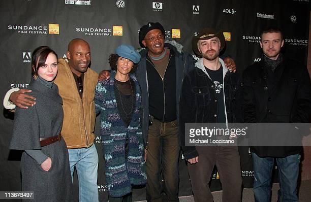 Christina Ricci John Singleton Stephanie Allain Producer Samuel L Jackson Craig Brewer Director and Justin Timberlake