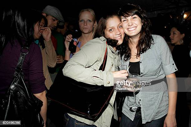 Christina Rodriguez and Christina Saragaglia attend EVERYDAY HEALTH 2nd Anniversary Party at Hudson Terrace on September 25 2008 in New York City