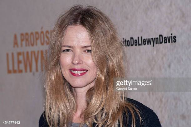 Christina Rosenvinge attends 'A Proposito De Llewyn Davis' Madrid premiere photocall at Matadero Madrid cineteca on December 9 2013 in Madrid Spain